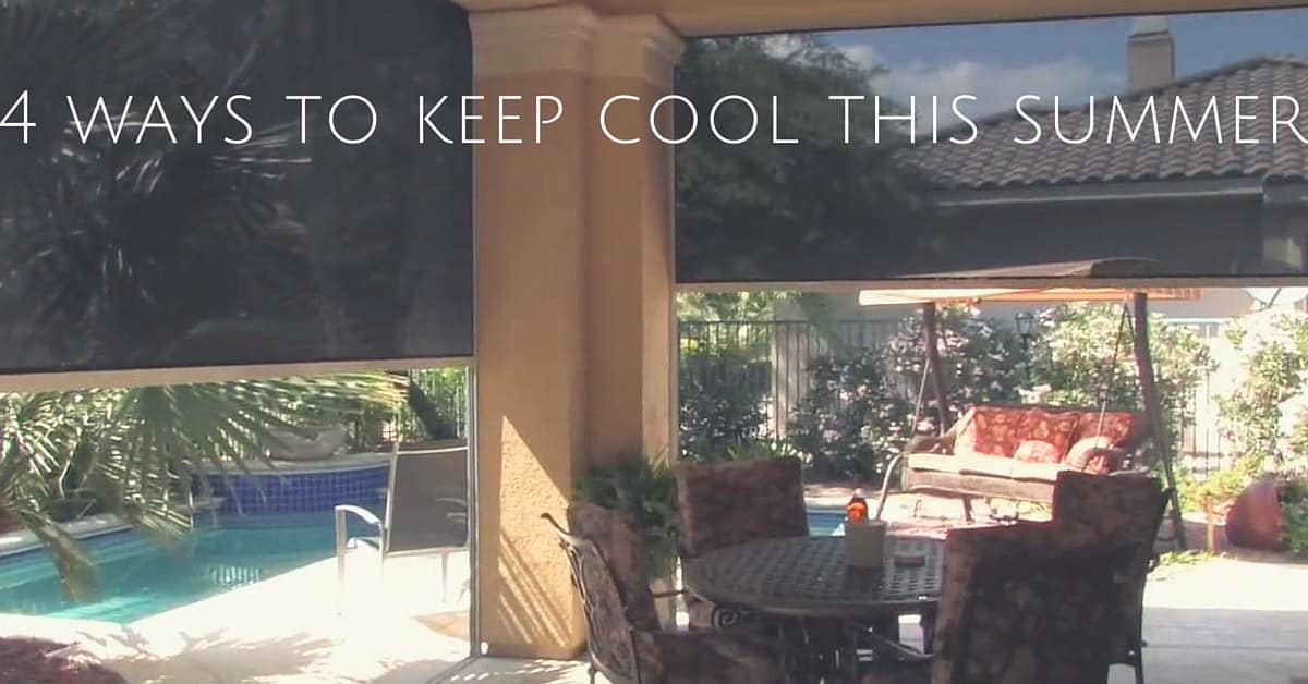 CC Sunscreen - 4 ways to keep cool this summer