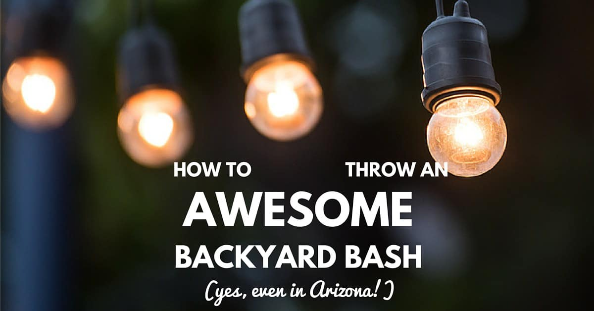 CC Sunscreens - How to Throw an Awesome Backyard Bash