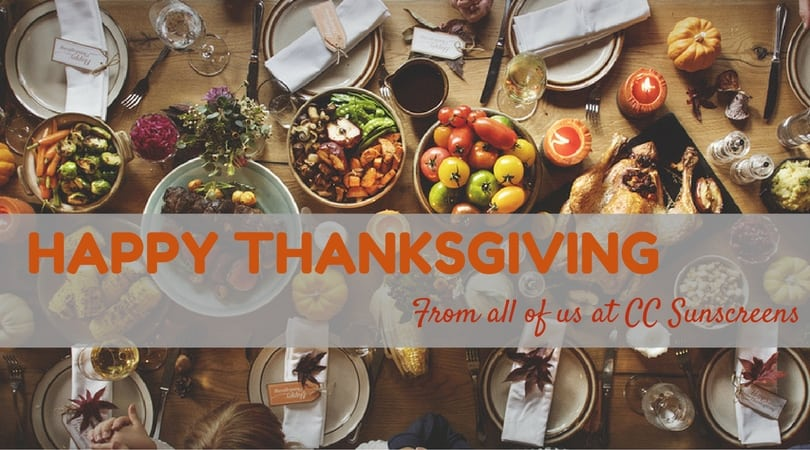 Happy Thanksgiving from CC Sunscreens