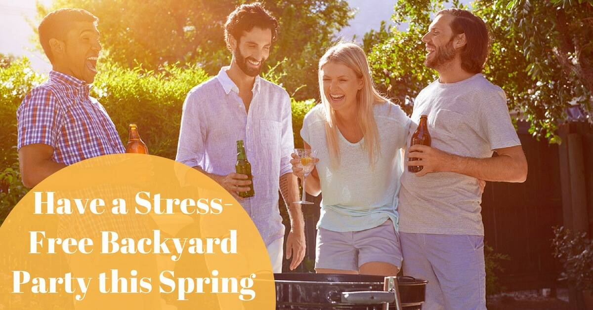 CC Sunscreens - How to Throw a Stress-Free Backyard Party this Spring