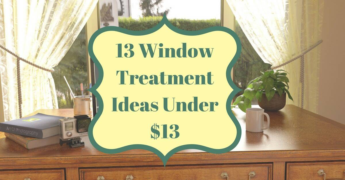 CC Sunscreens - 13 Window Treatment Ideas Under $13
