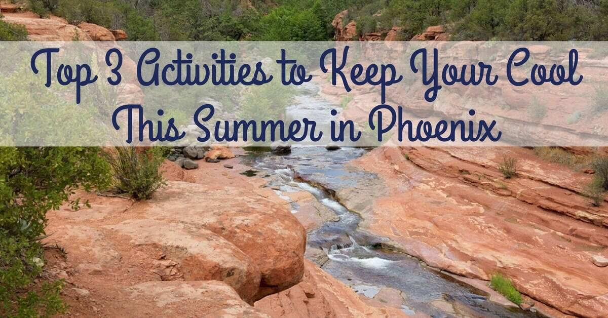 CC Sunscreens -Top 3 Activities to Keep Your Cool This Summer in Phoenix