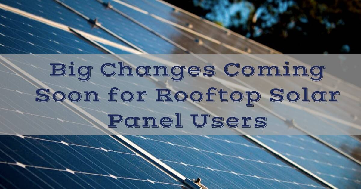 CC Sunscreens - Big Changes Coming Soon for Future Rooftop Solar Panel Users
