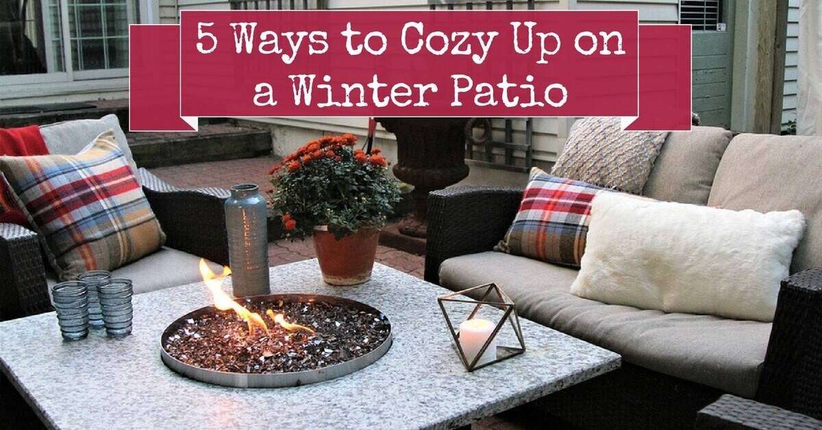 5 Ways to Cozy Up on a Winter Patio