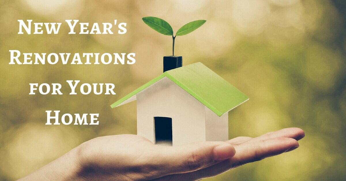 New Year's Renovations for Your Home