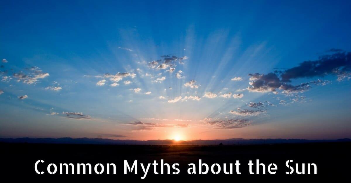 CC Sunscreens - Common Myths about the Sun